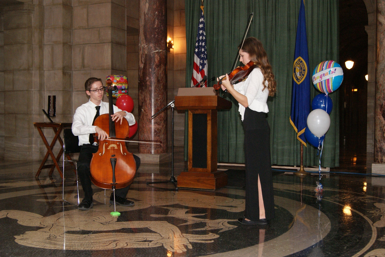 Lincoln High School - String Duet