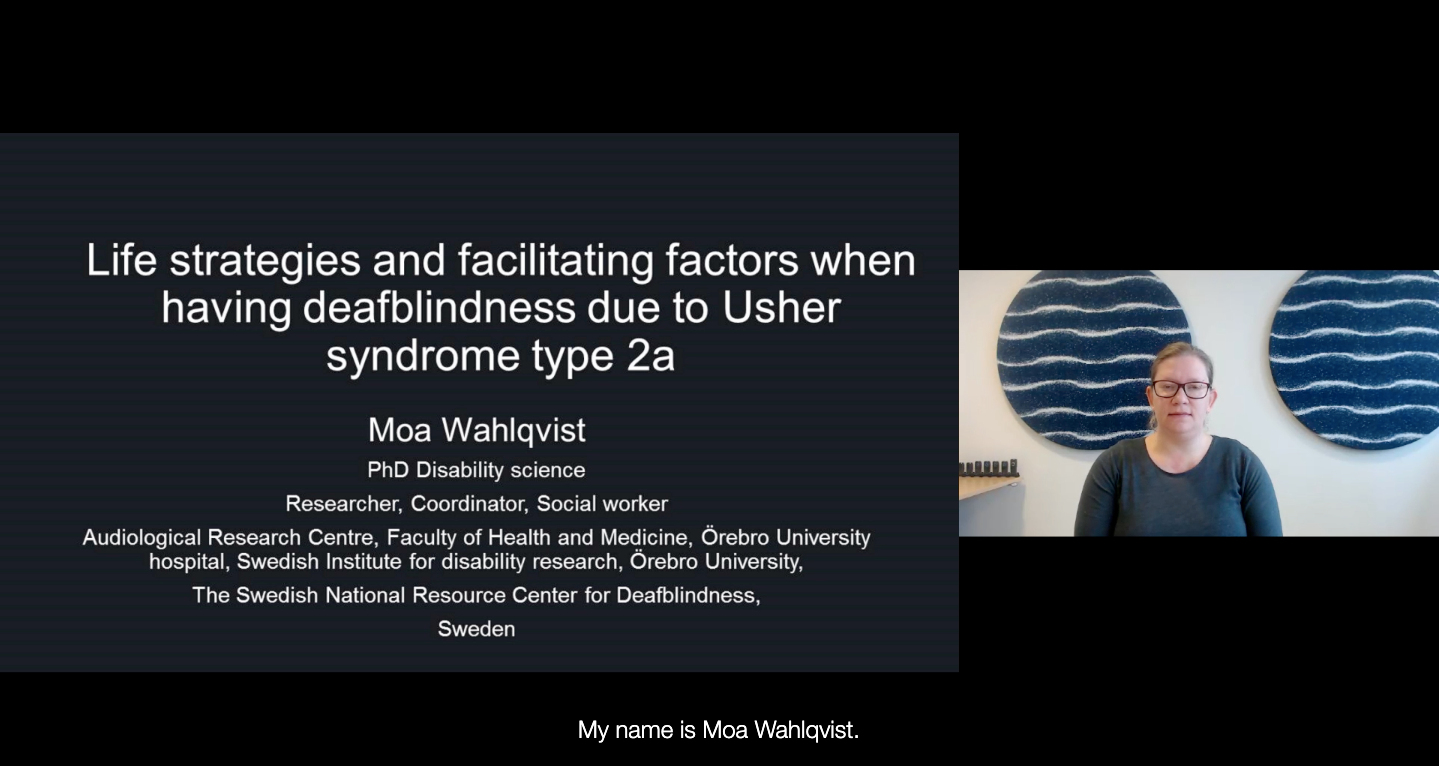 Life Strategies and Facilitating Factors-Usher Syndrome Type 2A