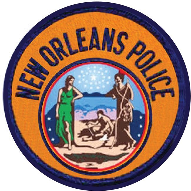 X33656 -  Shoulder Patch of New Orleans Police Department