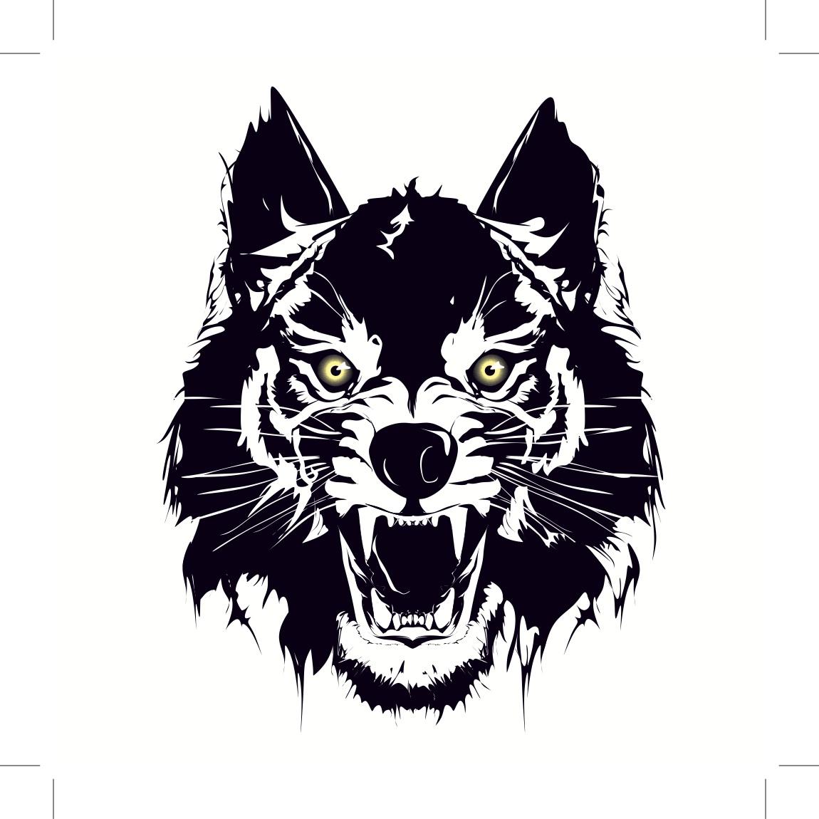 Wolf Car Decals