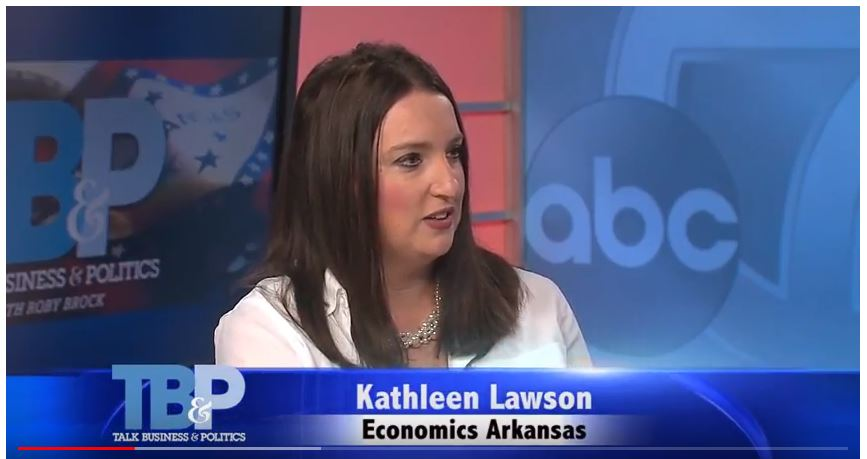 Kathleen Lawson on Talk Business