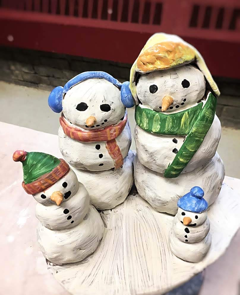 Snowman Family Workshop