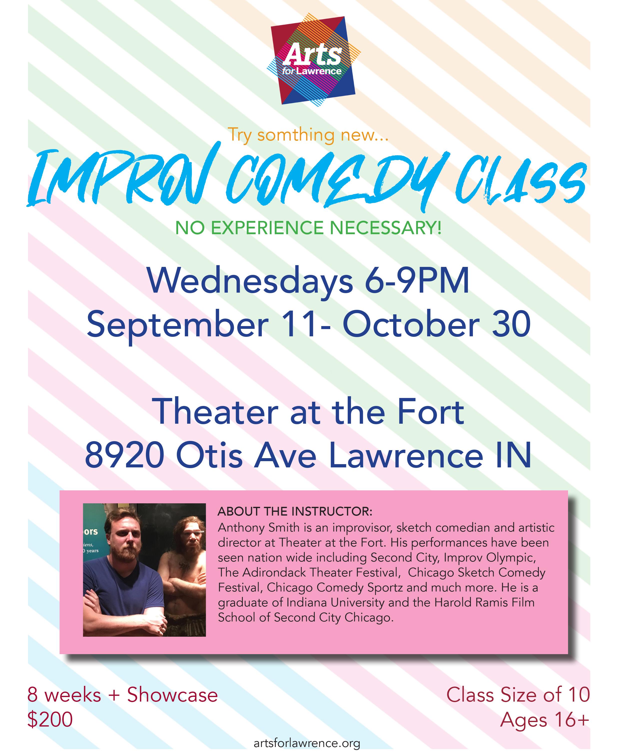 Improv Comedy Class