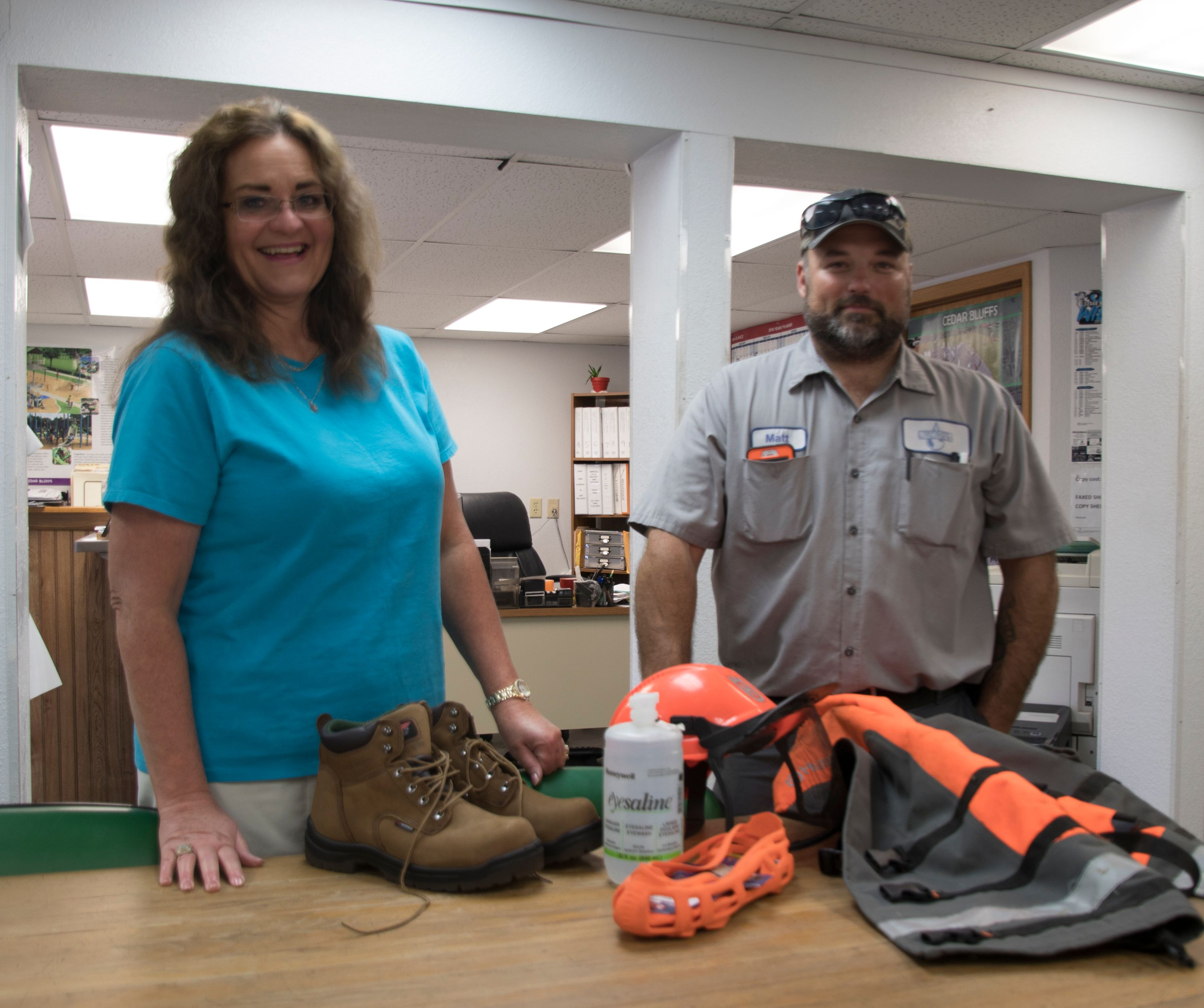 Cedar Bluffs purchases safety items with Lean on LARM funds