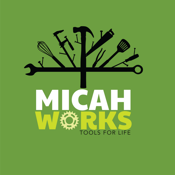 Micah Works Logo: Tools for Life