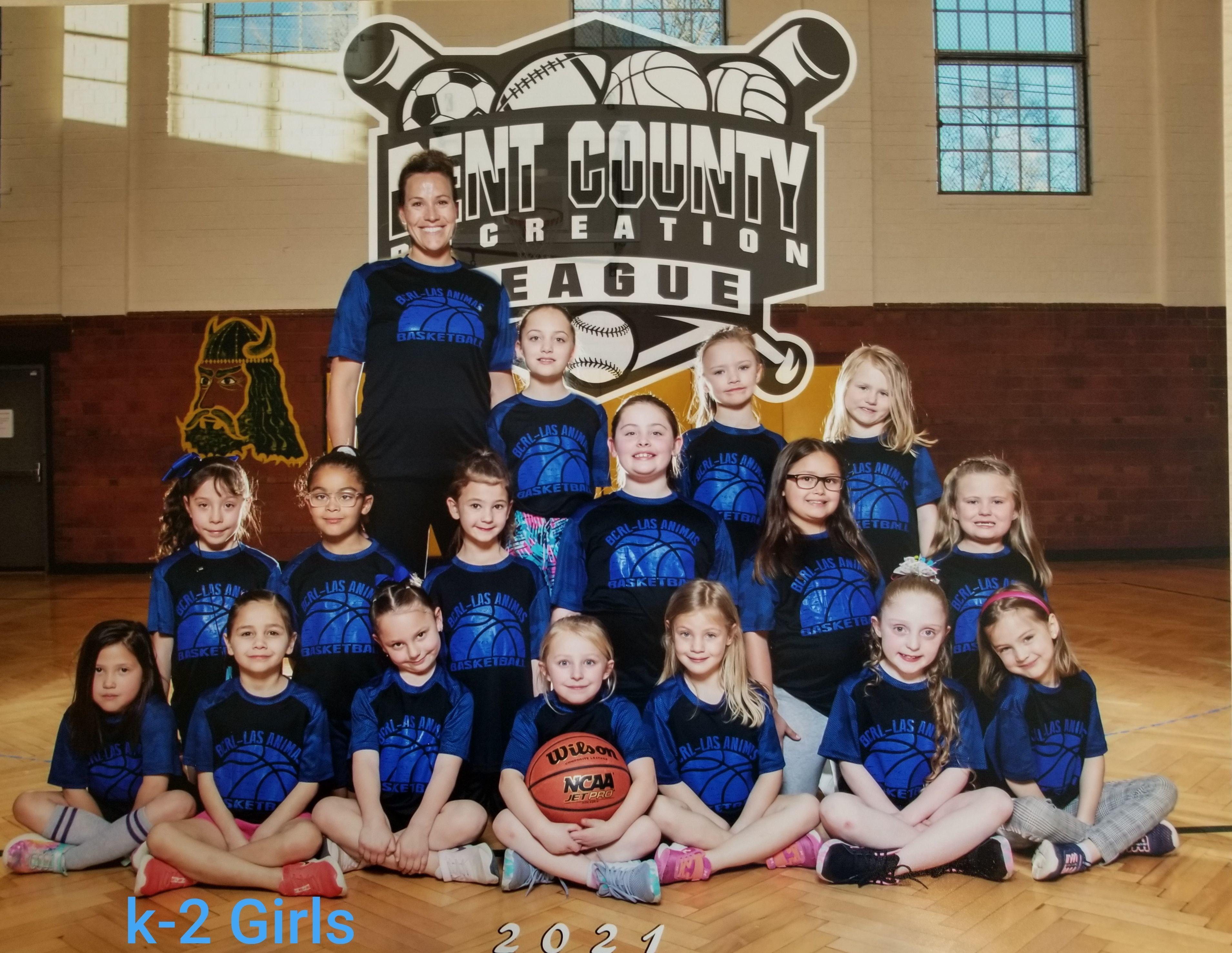 k-2 Girls Basketball 2021