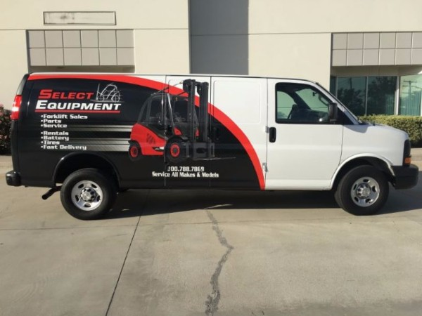 Fleet Vehicle Wraps in Orange County CA