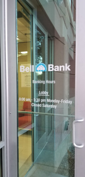 Door Lettering and Graphics for Banks in Phoenix AZ