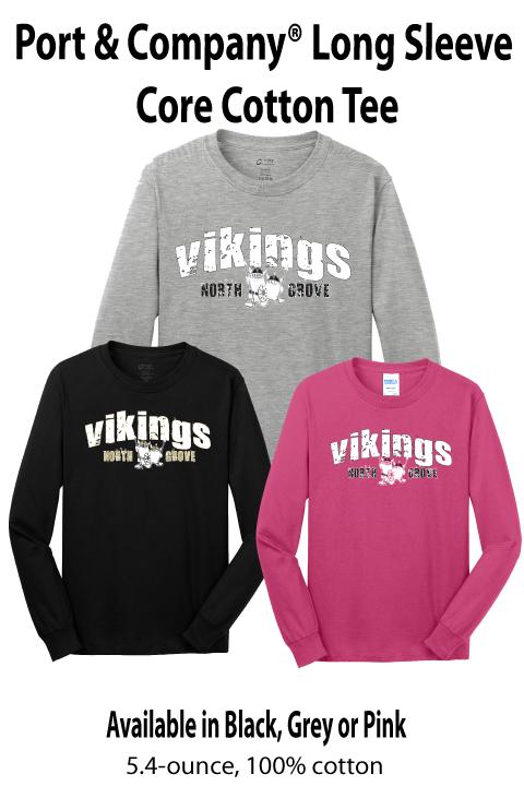 Vikings - Long-sleeve Tee