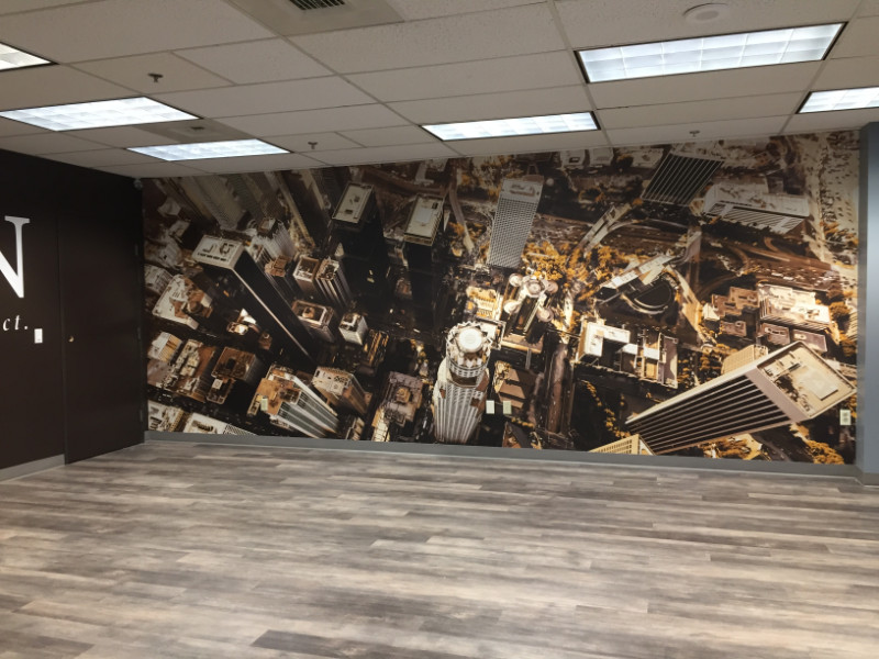 Wall murals for offices in Buena Park CA