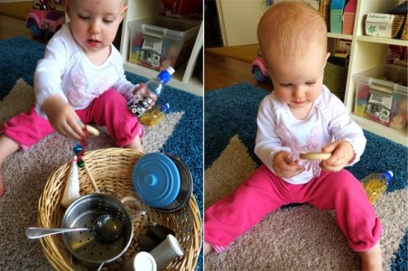Early Exploration: Sensory Sound Baskets