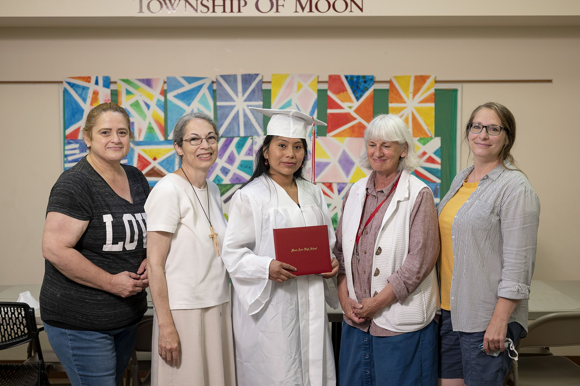 Mooncrest Neighborhood Programs Celebrates Graduate