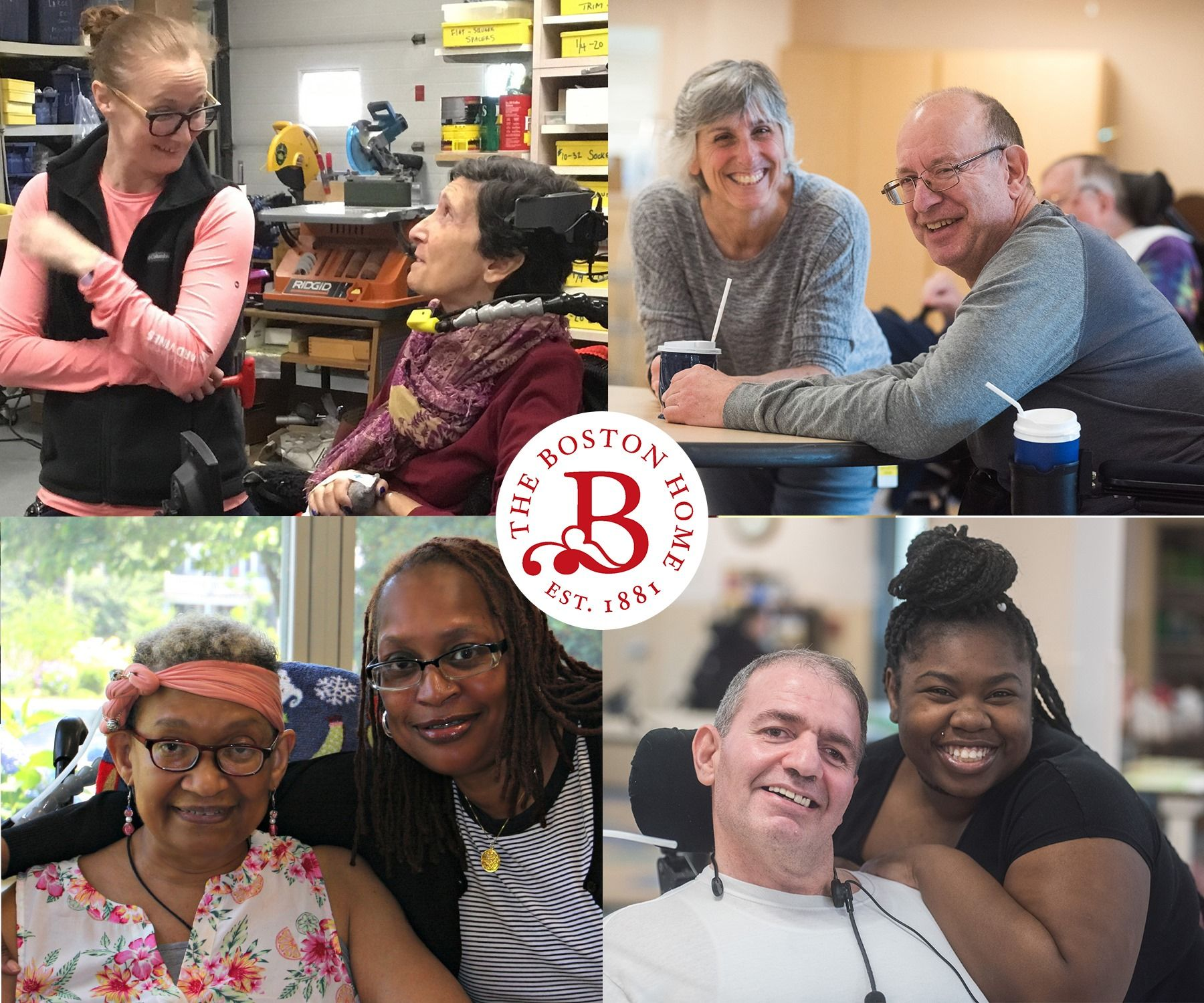 Thank You to our donors, partners, families, and volunteers who make The Boston Home a beautiful community of caring.