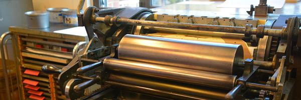 book printing equipment