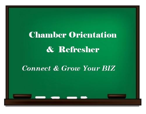 Chamber Orientation & Refresher