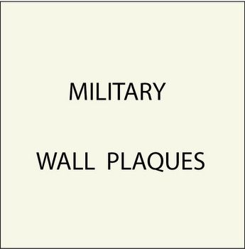 N23750 - 12. Military Plaques