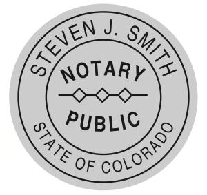 Large Round Stamp