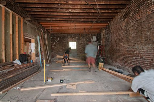 Renovations begin on Theaster Gates' Carver Bank project