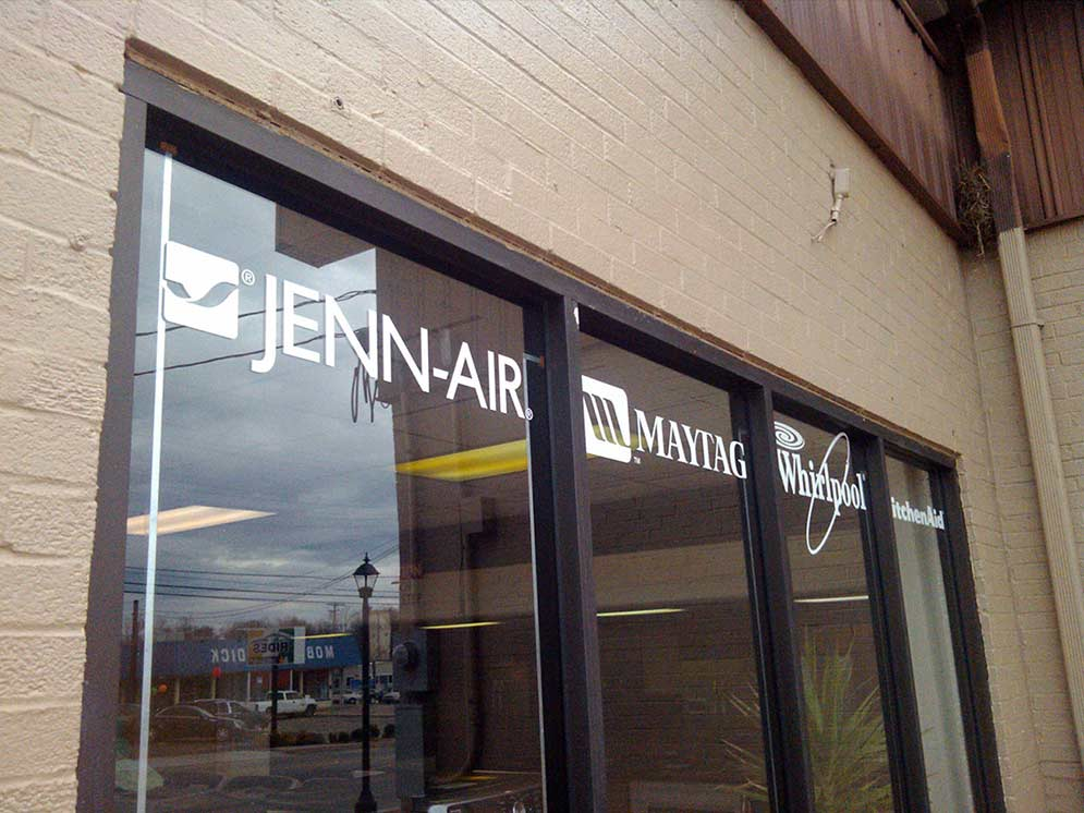 Falls City Signs Graphics Amp Lettering For Windows Walls