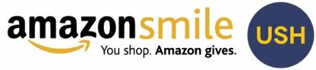AmazonSmile logo with USH bug