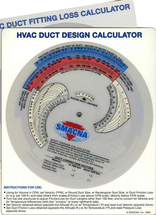 Duct System Calculator