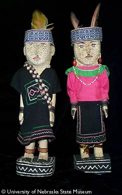 Peru Shipibo Dolls