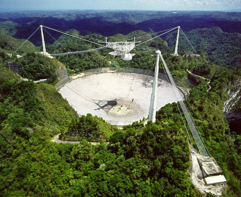 Arecibo Observatory's Main Telescope to be Decommissioned