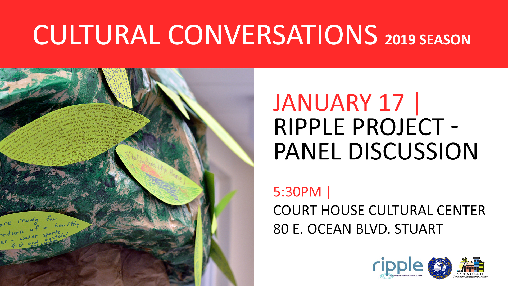 Cultural Conversations | Ripple Project Panel Discussion