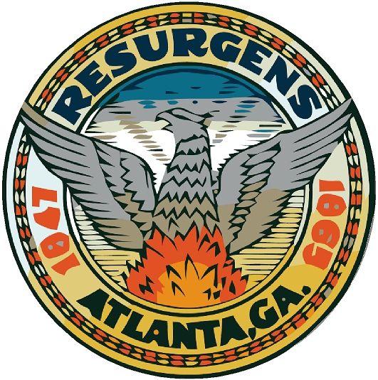 X33014 -  Seal of the City of Atlanta