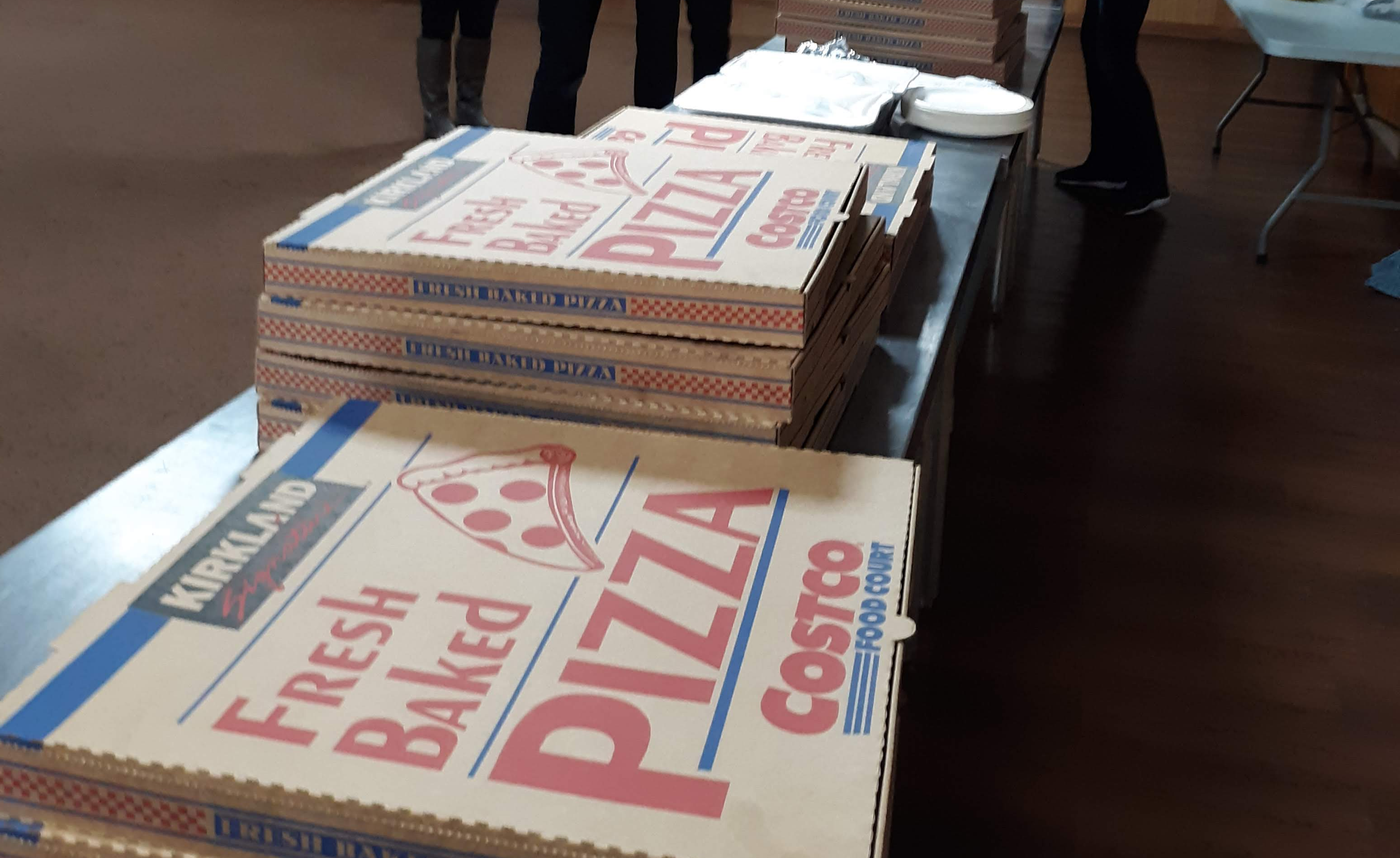 Pizza donated by Providence Bank Orland Park