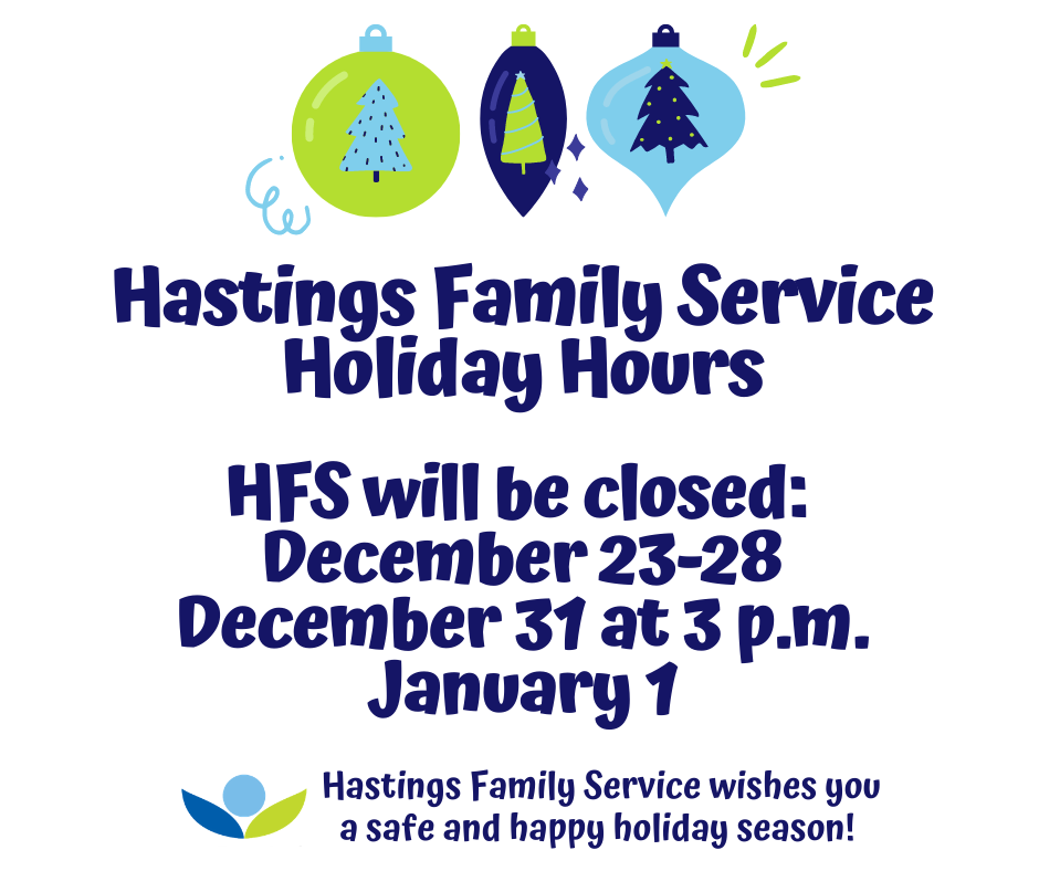 HFS Holiday Hours