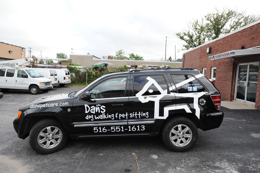 Vinyl Car Wrap Graphics Long Island - Modern business vehicle decals
