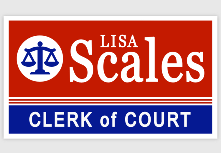 Lisa Scales, Your Clerk of Court
