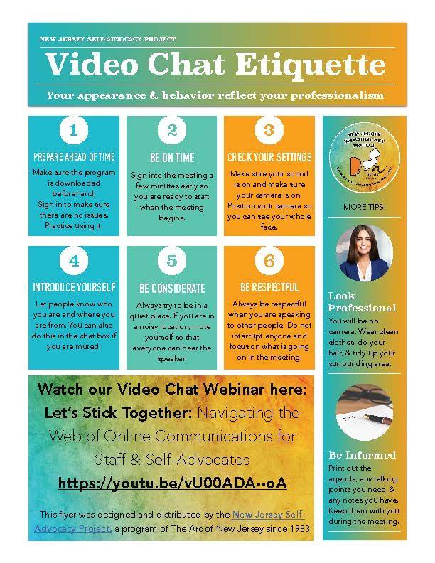 INFOGRAPHIC: Video Meeting Etiquette