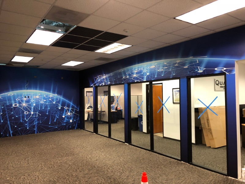 Wall Graphics for Offices | Los Angeles CA