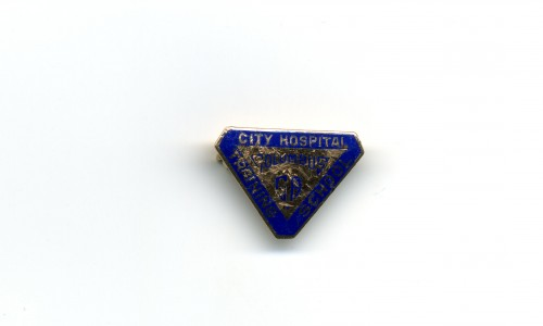 City Hospital Training School nurse's pin