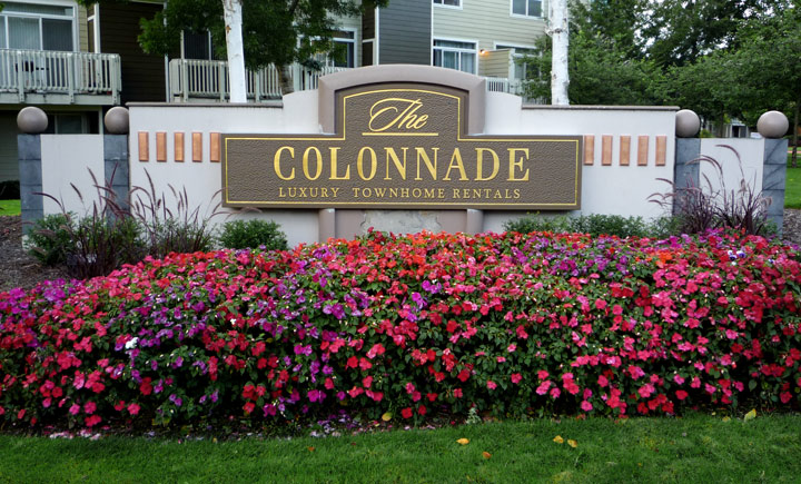 Colonnade Monument Sign