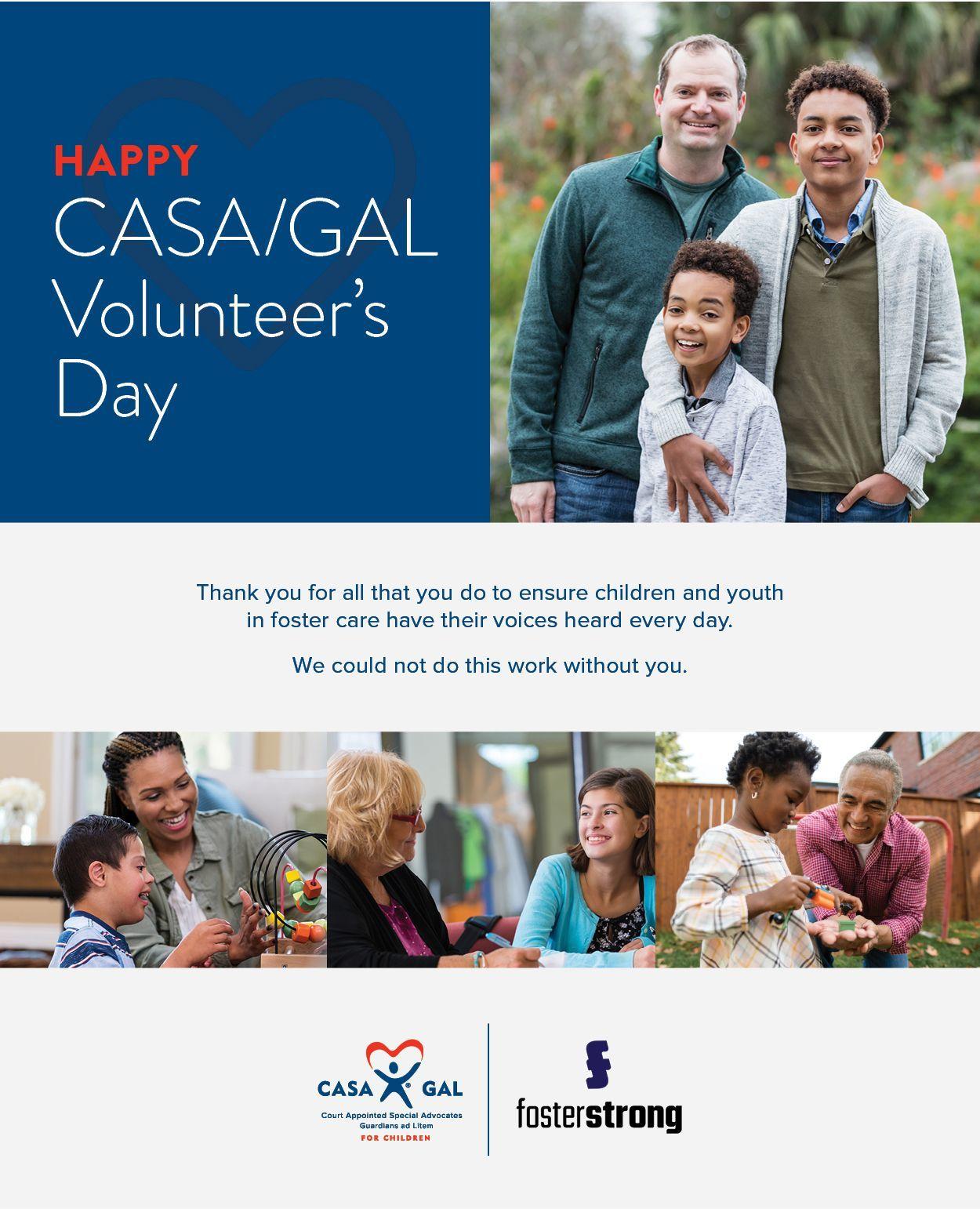 CASA/GAL Volunteer's Day May 18, 2021