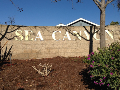 Aluminum wall lettering for housing communities in Orange County