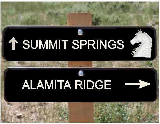 P25506 - Equestrian Trail Signs