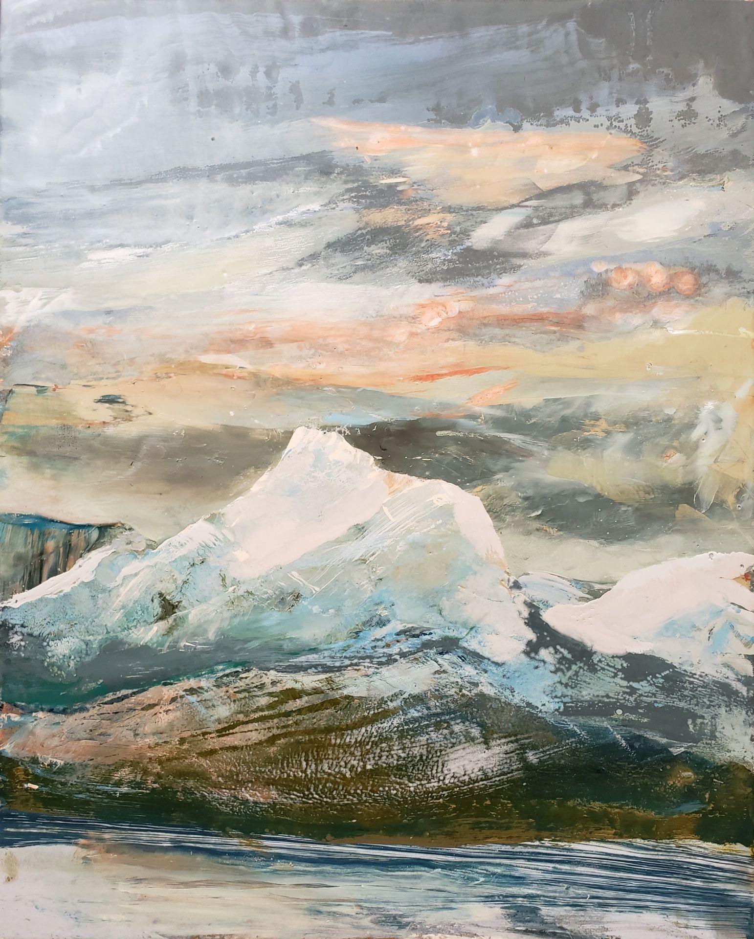 Forgotten Light of the Last Ice Mountains