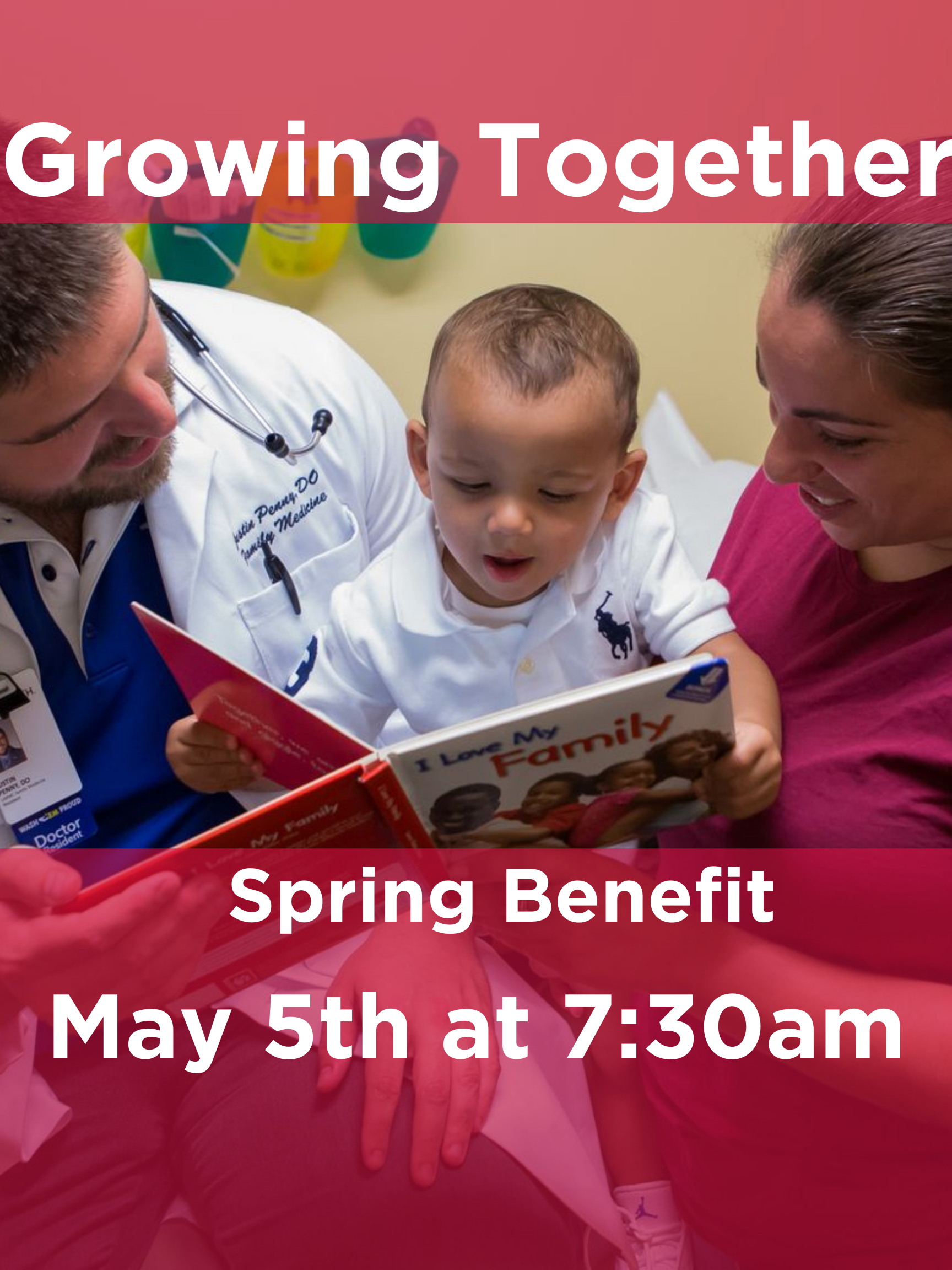 Watch! Growing Together: Our Spring Benefit