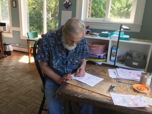 Ilsley opens local artist's first Crayola marker exhibit