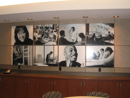 Corporate walls for Corporate mural