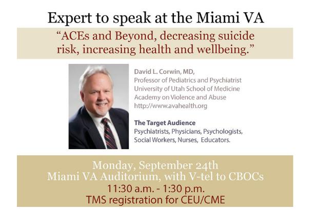 AVA Board Member Dave Corwin, MD to speak in Miami, FL