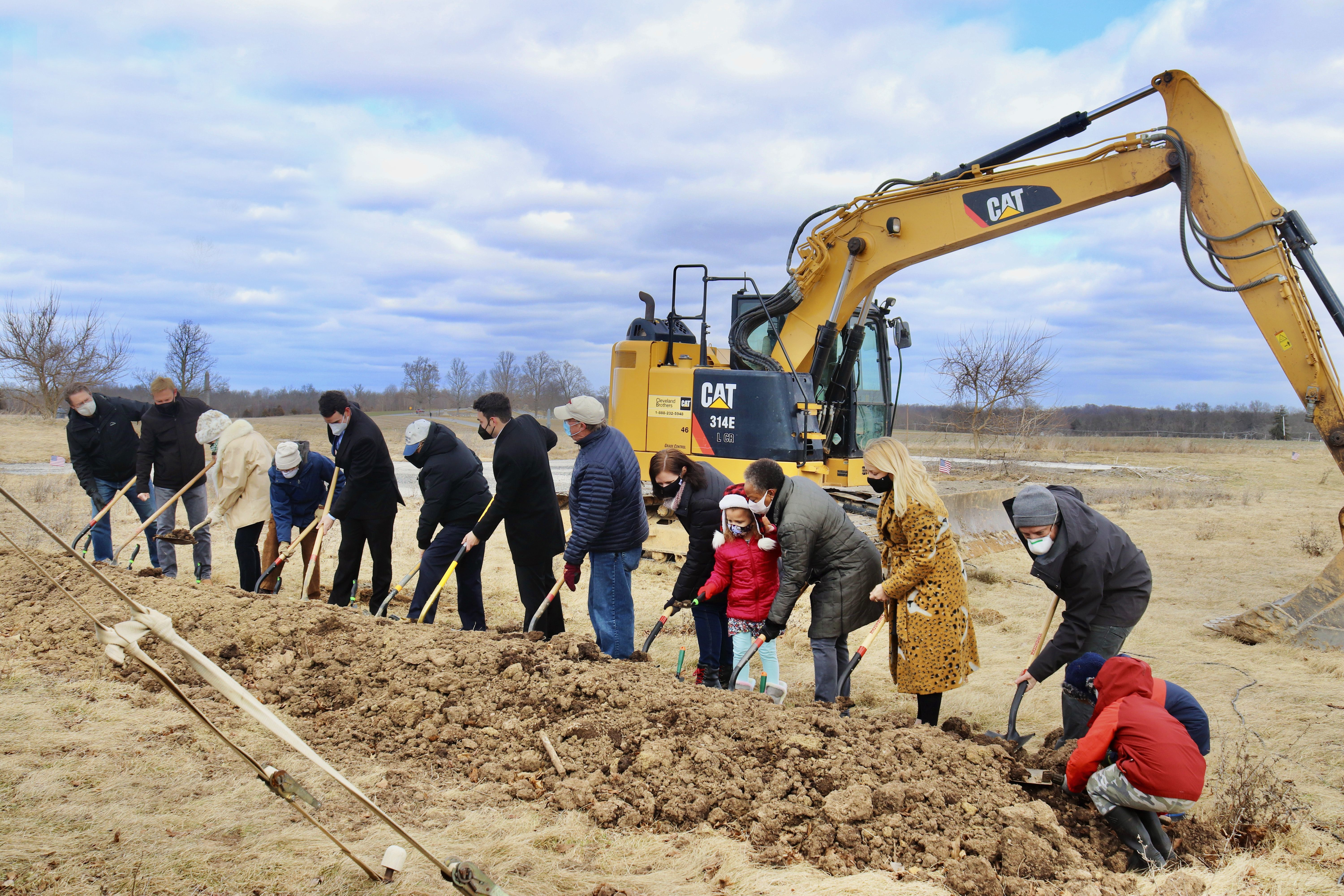 ADAMS COUNTY HISTORICAL SOCIETY BREAKS GROUND FOR NEW HOME