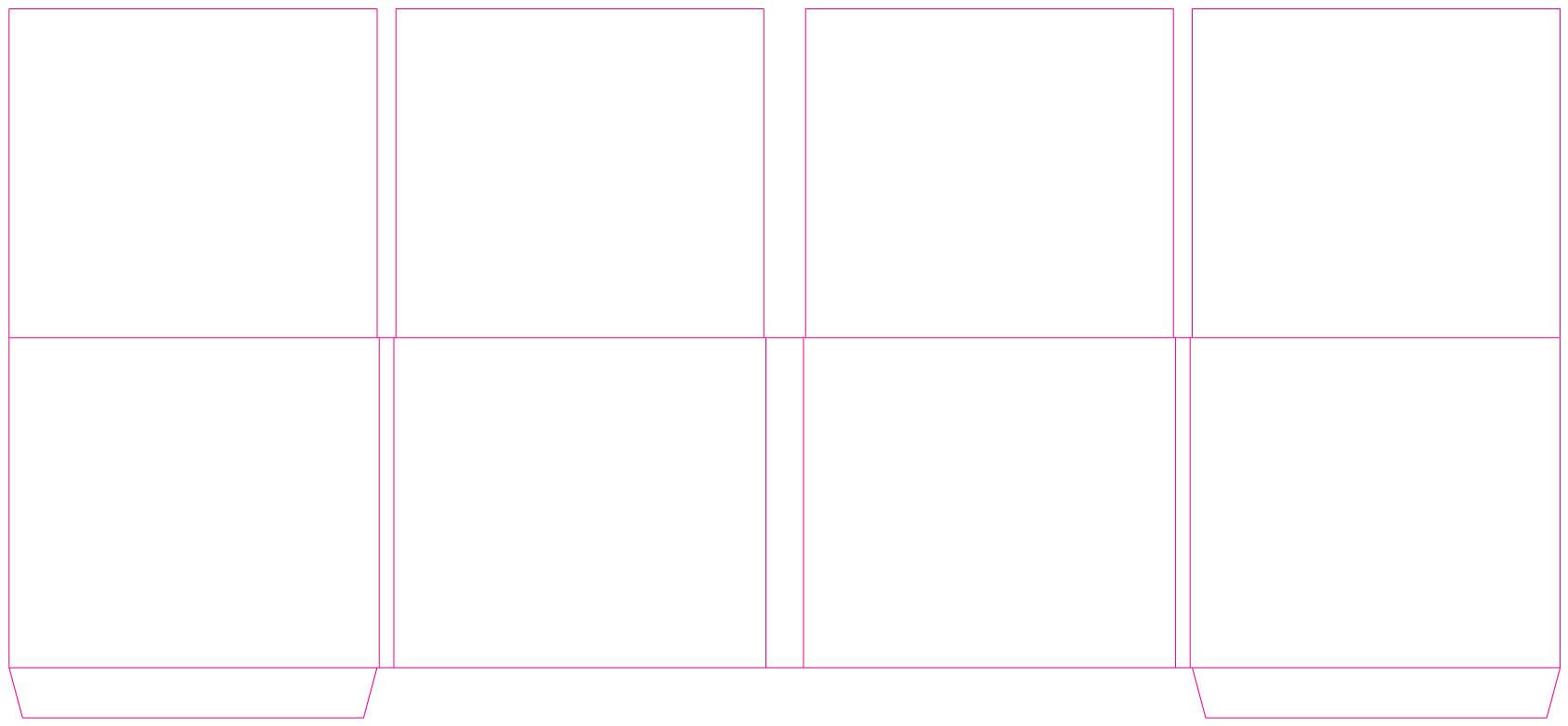 DDC82264 8 Panel Digi 2 Tray, 2 Pockets