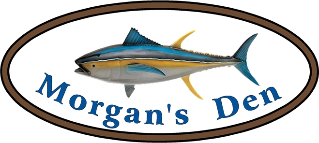 L21399 - Design of Sign for Private Den with Bluefin Tuna