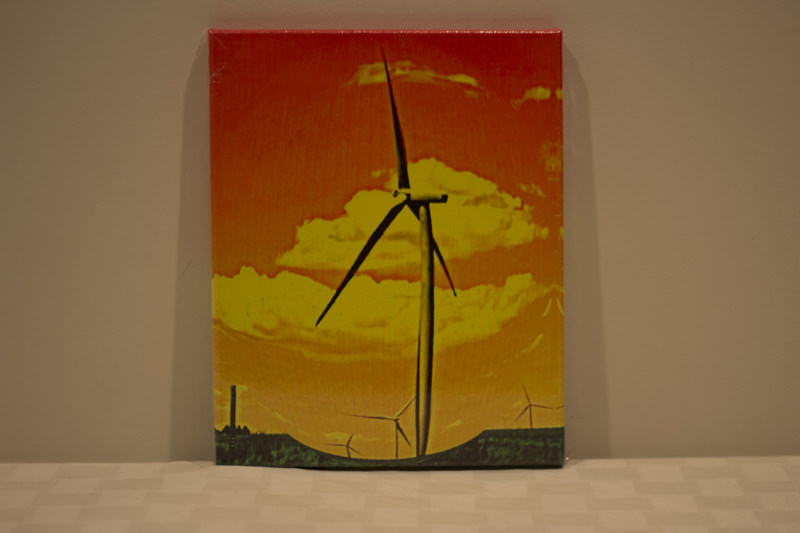 """Windmill"" - Donated by the photographer, Laura E Schumann"