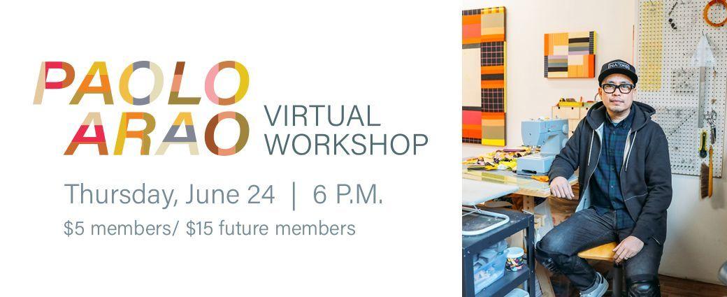 Paolo Arao Virtual Workshop